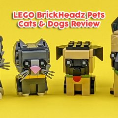 LEGO BrickHeadz Pets Dog & Cat Sets Review
