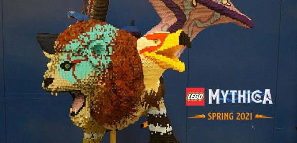 Another LEGO MYTHICA Creature Is Revealed