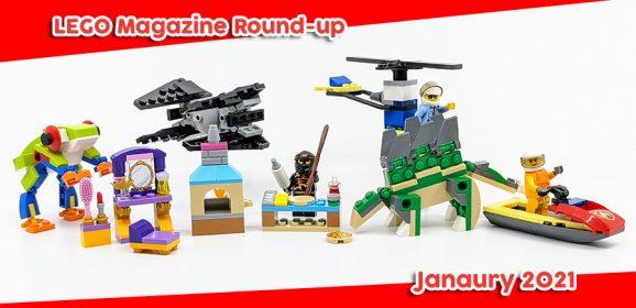 LEGO Magazines January Round-up