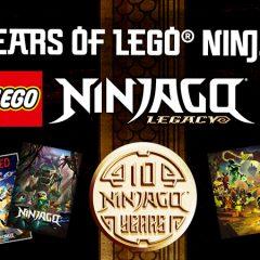 LEGO NINJAGO Celebrates 10th Anniversary
