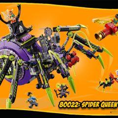 80022: Spider Queen's Arachnoid Base Set Review