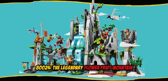 80024: The Legendary Flower Fruit Mountain Set Review