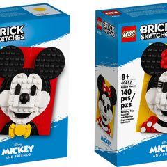LEGO Mickey & Minnie Mouse Brick Sketches Review