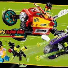 80018: Monkie Kid's Cloud Bike Set Review