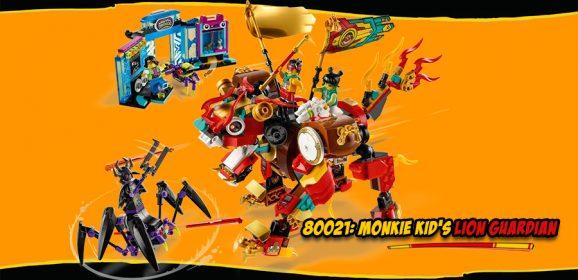 80021: Monkie Kid's Lion Guardian Set Review