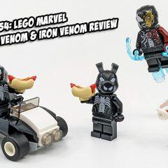 40454: Spider-Man Vs. Venom & Iron Venom Minifigures Review