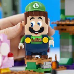 See LEGO Luigi Interactive Figure In Action