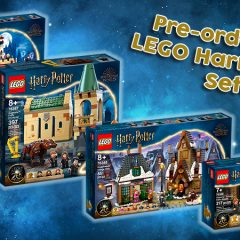 Pre-order New LEGO Harry Potter Sets Now