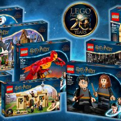 Celebrate 20 Years Of LEGO Harry Potter With New Sets