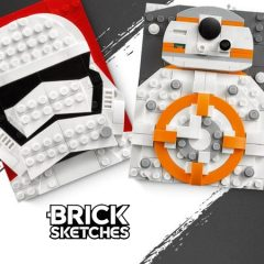 In-store LEGO Star Wars Brick Sketches Offer