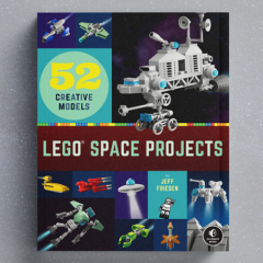 LEGO Space Projects Book Preview