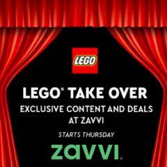LEGO Takeover At Zavvi This Thursday