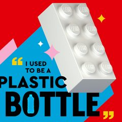 Prototype LEGO Brick Made From Recycled Plastic