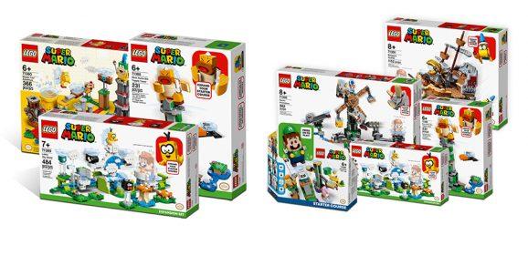 LEGO Super Mario Set Bundles Now Available