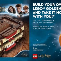 LEGO Stores UK Harry Potter Events