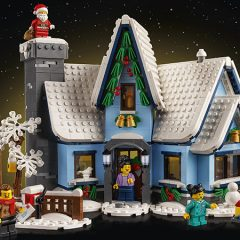 LEGO Winter Village Santa's Visit Available For VIPs